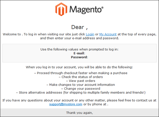 How to change logo in magento admin panel for Change password email template
