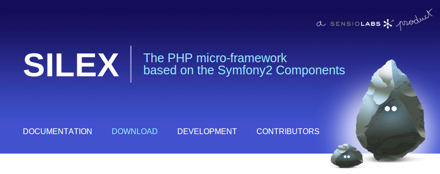 Silex - The PHP micro-framework based on the symfony2 components