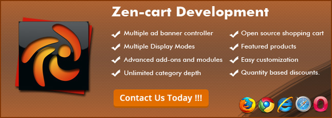 Features of Zen cart Development