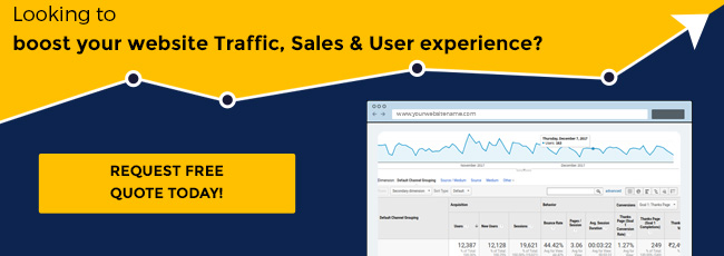 Boost your website Traffic, Sales & User experience