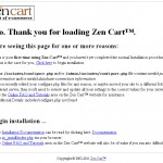 Zen Cart Engine Installation