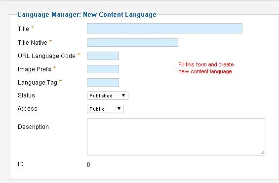 Create-new-content-language