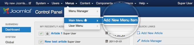 Submenu width in Joomla