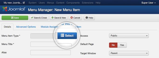 Managing the Submenu width in Joomla