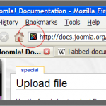 Favicon with Joomla
