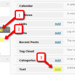 Widget area class in wordpress