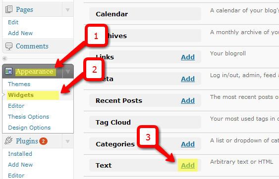 Edit widget area class in wordpress