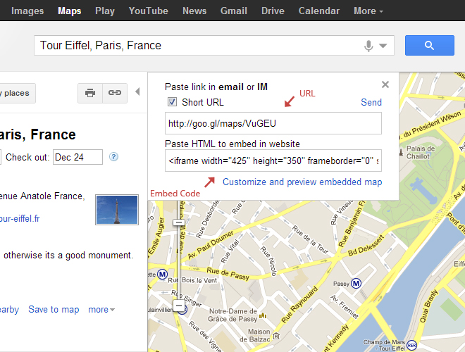 Use Google Maps In WordPress With Shortcodes