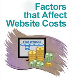 Factors affecting the cost of the website