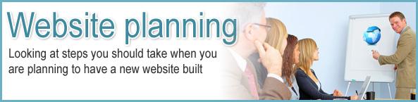 website development planning