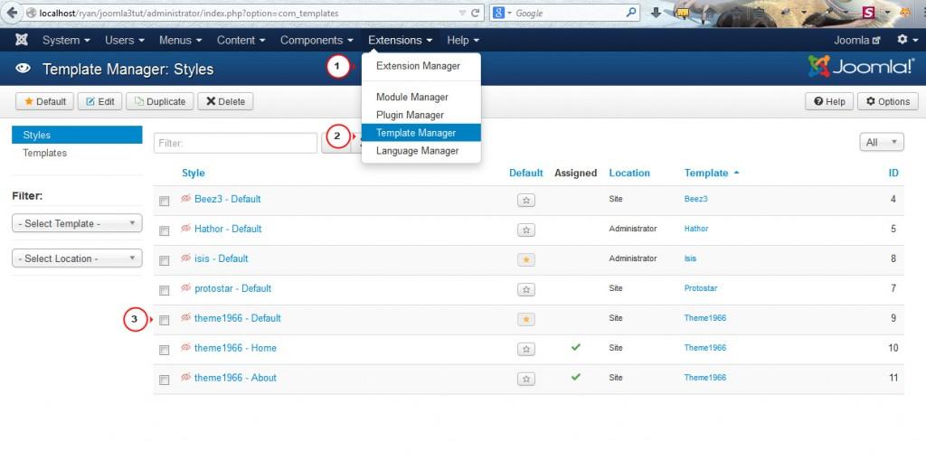Modifying the number of sidebars in Joomla