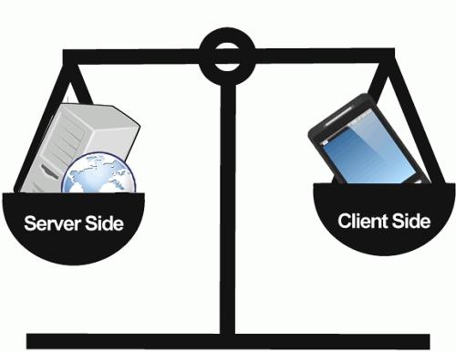Client Side And Server Side Web Design