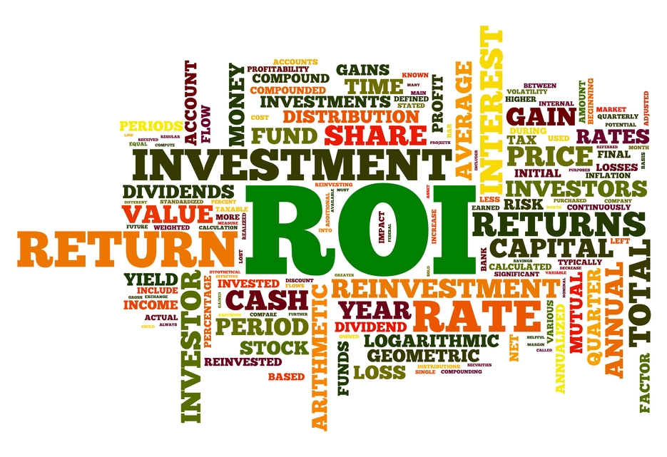 Return on investment from the website