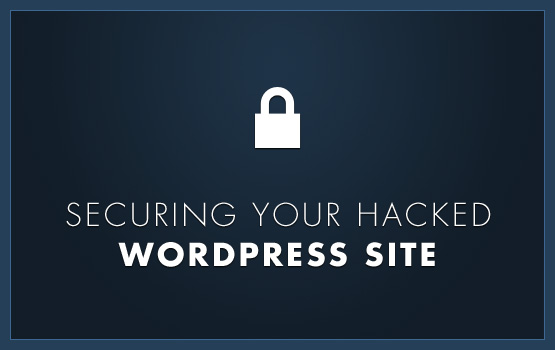 Securing your hacked wordpress site