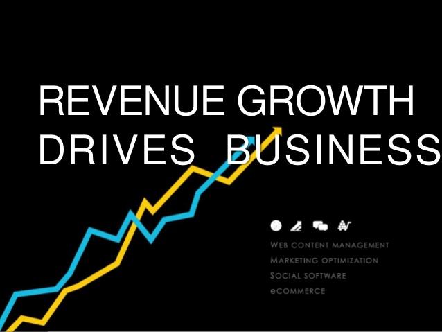 REVENUE GROWTH DRIVES BUSINESS