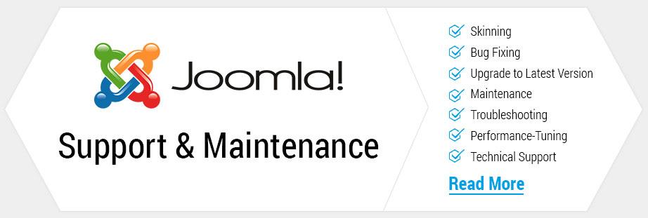 Joomla support maintenance