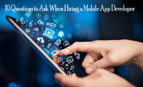 Hiring Mobile App Developer