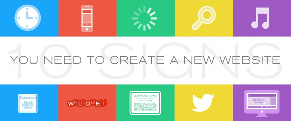 You Need to Create a New Website
