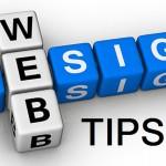 A few Practical Website Tips