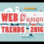 New Web Design trends popping up that will be popular by the end of 2015 and in 2016