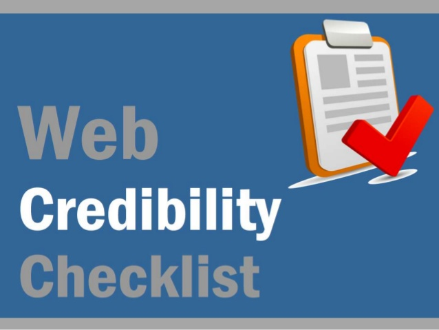 Web Credibility
