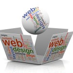 What is well balanced website design – Balancing the text and graphic elements on a website