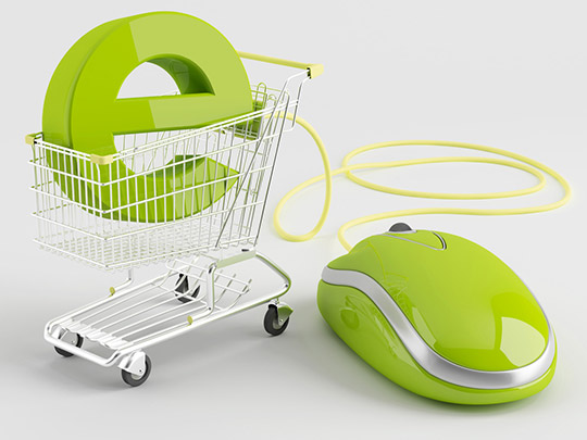 E-business shopping cart