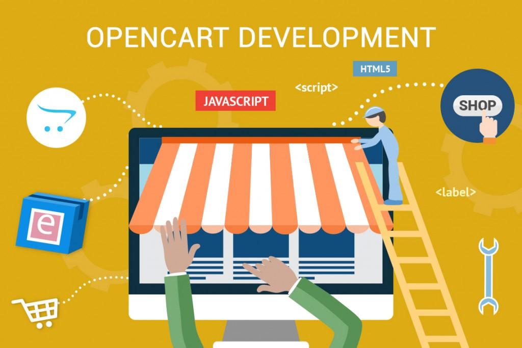 Making beautiful websites using Open Cart