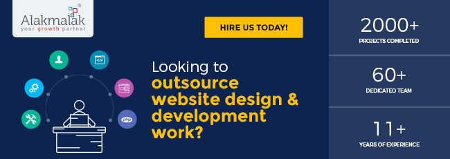 Looking to outsource website design and development work
