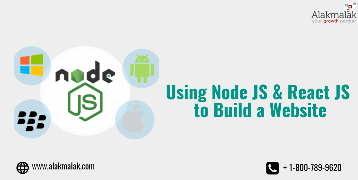 Using Node JS & React JS to Build a Website