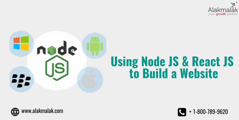 Using Node JS & React JS to Build a Website