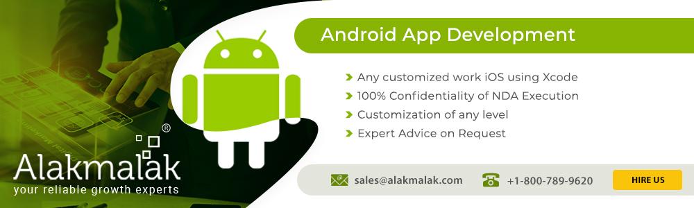 Mobile App Development with Alakmalak
